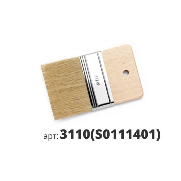 декоративная кисть с натуральной щетиной 3110(s0111401)