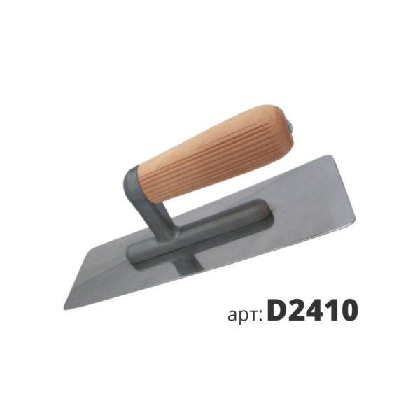 кельма венецианская деревянная ручка D2410