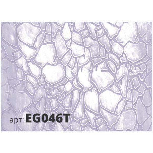 Рисунок резинового валика КРАКЛЕ EG046T