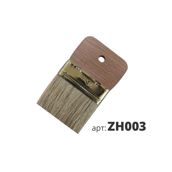декоративная кисть с натуральной щетиной ZH003