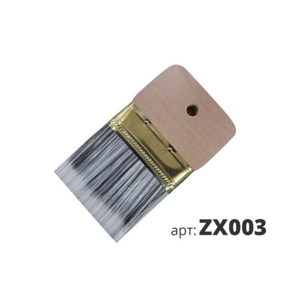 декоративная кисть со смешанной щетиной zx003-1