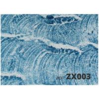 мазок декоративной кисти zx003-2