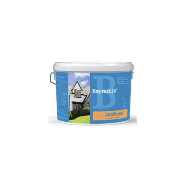 Водоэмульсионная, акриловая краска Bayramix Akrylik Profi